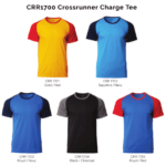 CRR1700 Crossrunner Charge Tee 2018-19 catalogue