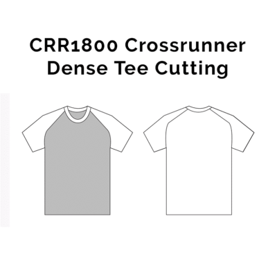 CRR1800 Crossrunner Dense Tee 2018-19 cutting