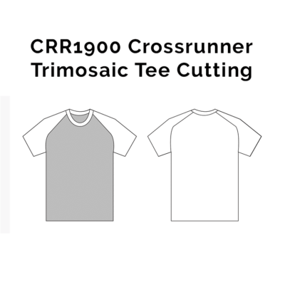 CRR1900 Crossrunner Trimosaic Tee 2018-19 cutting