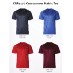CRR2100 Crossrunner Matrix Tee 2018-19 catalogue