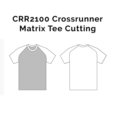 CRR2100 Crossrunner Matrix Tee 2018-19 cutting