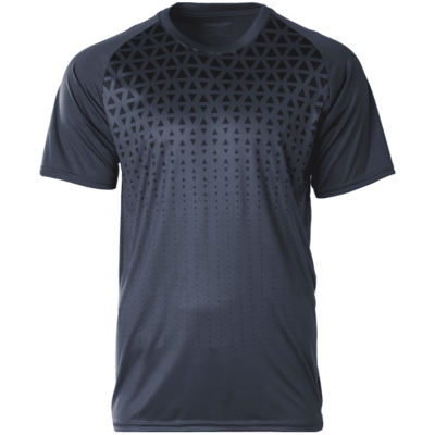 CRR2100 charcoal 400x400 - CRR2100 Crossrunner Matrix Tee