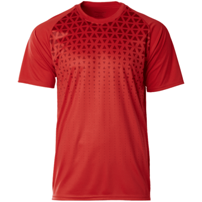 CRR2100 red 400x400 - CRR2100 Crossrunner Matrix Tee