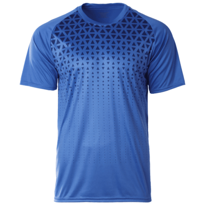 CRR2100 royal 400x400 - CRR2100 Crossrunner Matrix Tee