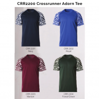 CRR2200 Crossrunner Adorn Tee 2018-19 catalogue