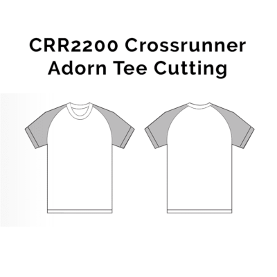 CRR2200 Crossrunner Adorn Tee 2018-19 cutting
