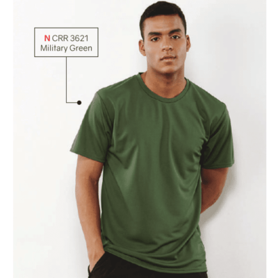 CRR3600 Dry Pique Performance T-shirts 2018-19 model 1