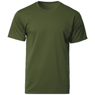 CRR3600 Military Green 400x400 - CRR3600 Dry Pique Performance T-shirts
