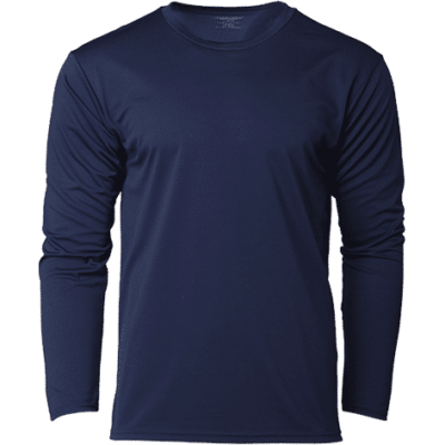 CRR36400 Navy 400x400 - CRR36400 Performance Long-Sleeves Tee