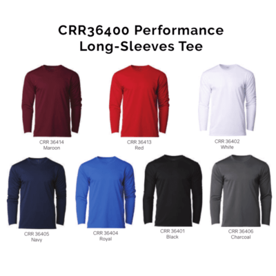 CRR36400 Performance Long-Sleeves Tee 2018-19 catalogue