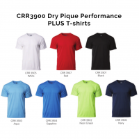 CRR3900 Dry Pique Performance PLUS T-shirts 2018-19 catalogue