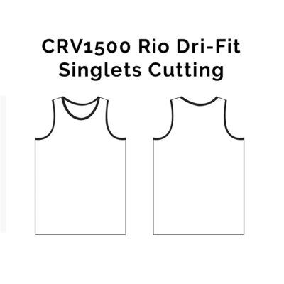 CRV1500 Rio Dri-Fit Singlets 2018-19 cutting
