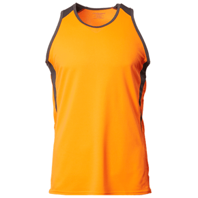 CRV1600 neon orange 400x400 - CRV1600 Rio Dri-Fit Singlets