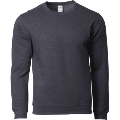 Dark Heather Gildan 88000 400x400 - Gildan Crewneck Sweatshirt (88000)