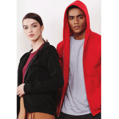 Gildan Full Zip Hooded Sweatshirts 88600 2018-19 model 2