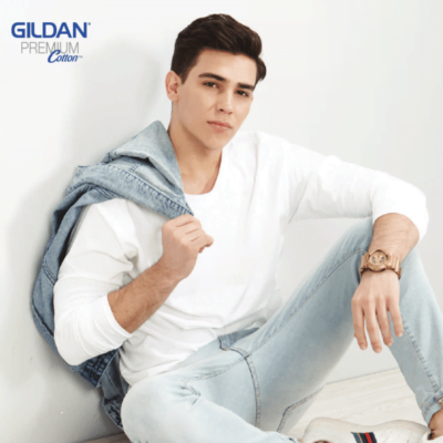Gildan Premium Cotton Long-Sleeves T-shirts 76400 2018-19 model 1