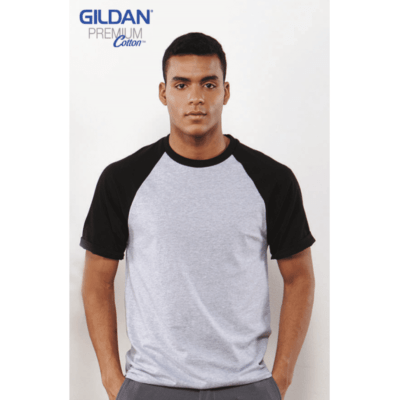 Gildan Short Raglan-Sleeves T-Shirts 76500 2018-19 model 1