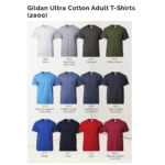 Gildan Ultra Cotton Adult T-Shirts 2000 2018-19 catalogue