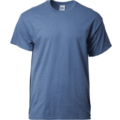 Gildan Ultra Cotton Adult T-Shirts 2000 2018-19 heather indigo thumbnail