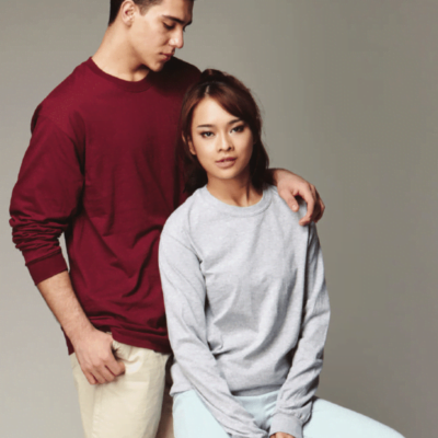 Gildan Ultra Cotton Long-Sleeves T-shirts 2400 2018-19 model 1