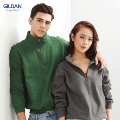 Gildan Vintage Cadet Collar Sweatshirts 18800 2018-19 model 1
