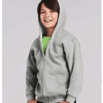 Gildan Youth Full Zip Hooded Sweatshirts 88600B 2018-19 model 2