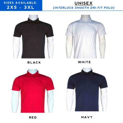 Interlock dri fit POLO t-shirt 2019 CATALOGUE