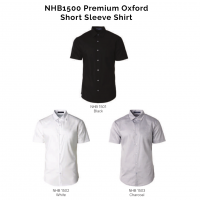 NHB1500 Premium Oxford Short Sleeve Shirt 2018-19 catalogue