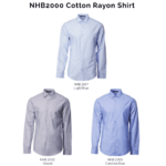NHB2000 Cotton Rayon Shirt 2018 19 catalogue 150x150 - NHB2000 Cotton Rayon Shirt