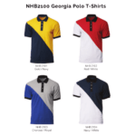 NHB2100 Georgia Polo T-Shirts 2018-19 catalogue
