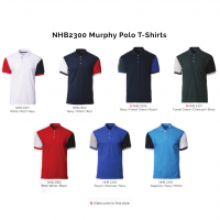 NHB2300 Murphy Polo T-Shirts 2018-19 catalogue