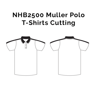 NHB2500 Muller Polo T-Shirts 2018-19 cutting