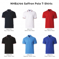 NHB2700 Saffron Polo T-Shirts 2018-19 catalogue