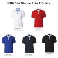 NHB2800 Glance Polo T-Shirts 2018-19 catalogue