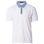 NHB2800 White light blue 150x150 - NHB2800 Glance Polo T-Shirts