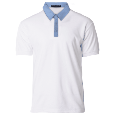 NHB2800 White light blue 400x400 - NHB2800 Glance Polo T-Shirts