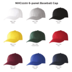 NHC1100 6-panel Baseball Cap 2018-19 catalogue