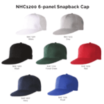 NHC1200 6-panel Snapback Cap 2018-19 catalogue