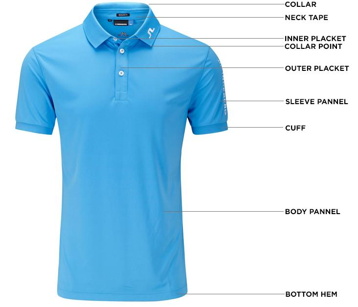 Golf shirt parts - Custom-Made Apparels (Made-To-Order)