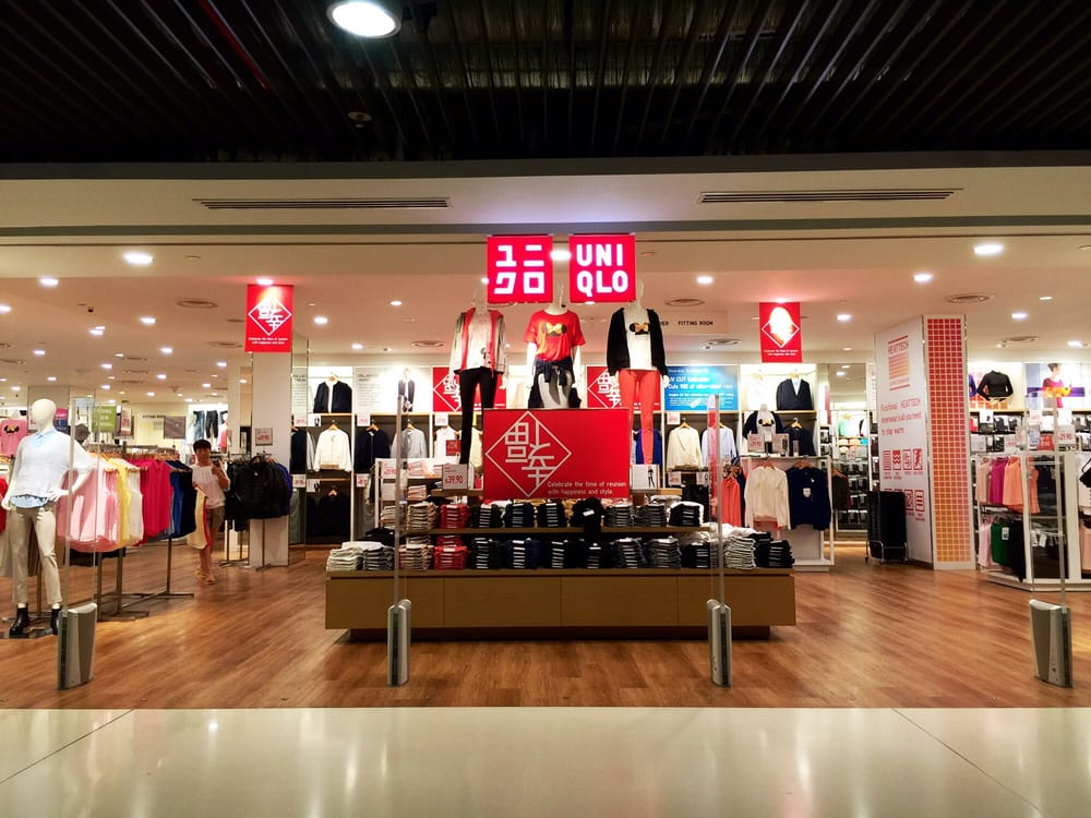 Uniqlo front entrance