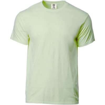 C1717 Celadon 400x400 - Soft Washed Garment Dyed Fabric Adult T-Shirt (C1717)