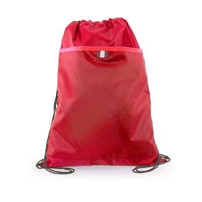 Elmos Drawstring Bag 2018-19 red