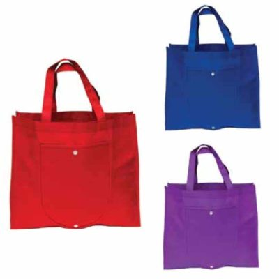 Foldable Non Woven Bag NW16 2018 19 catalogue 400x400 - Foldable Non Woven Tote Bag NW16
