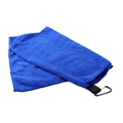 Onto-Soft Sports Towel in Mesh Pouch 2018-19 Royal