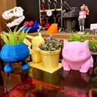 3d pokemon planters