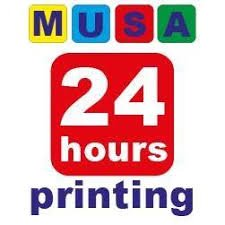 Musa 24 hours printing shop