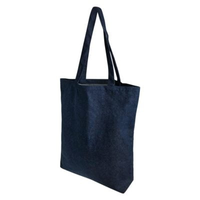 A3 Denim Tote Bag 2019 side view 400x400 - A3 Denim Tote Bag