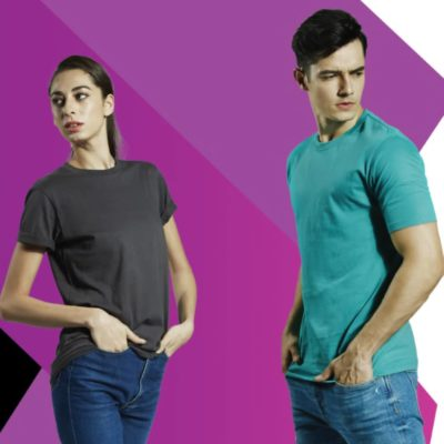Basic Cotton Round Neck T-Shirts 2019-20 models 1