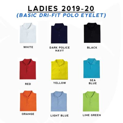 Basic Dri-Fit Polo T-Shirts 2019-20 LADIES catalogue new