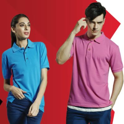 Basic Honeycomb Cotton Polo T-Shirts 2019-20 MODELS 1